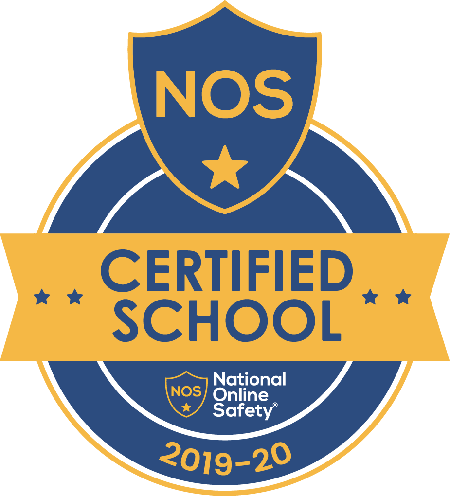 National Online Safety Certified School badge